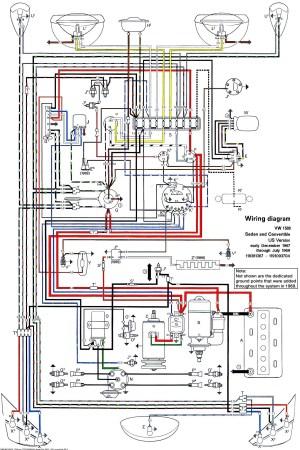 Rewiring a classic VW bug? | Yahoo Answers