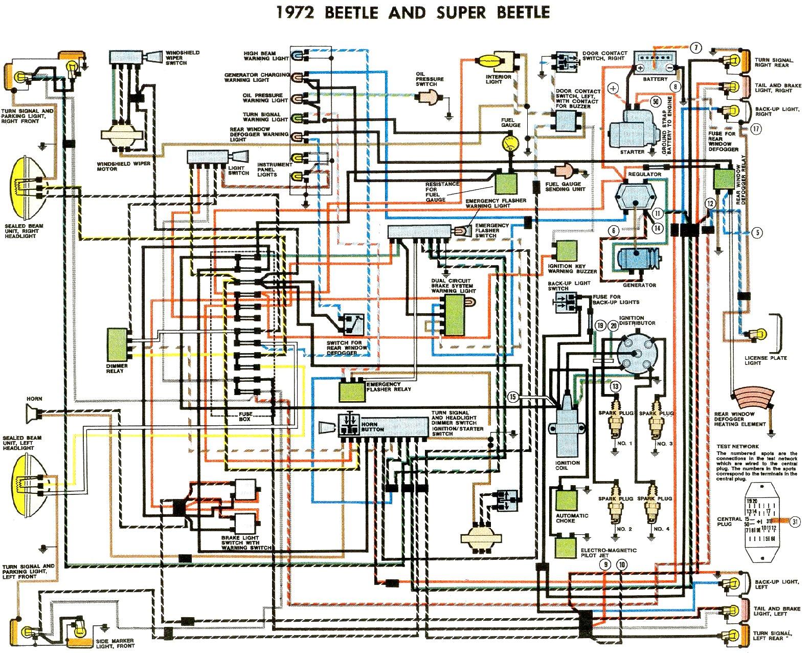 1973 Vw Beetle Engine Diagram New