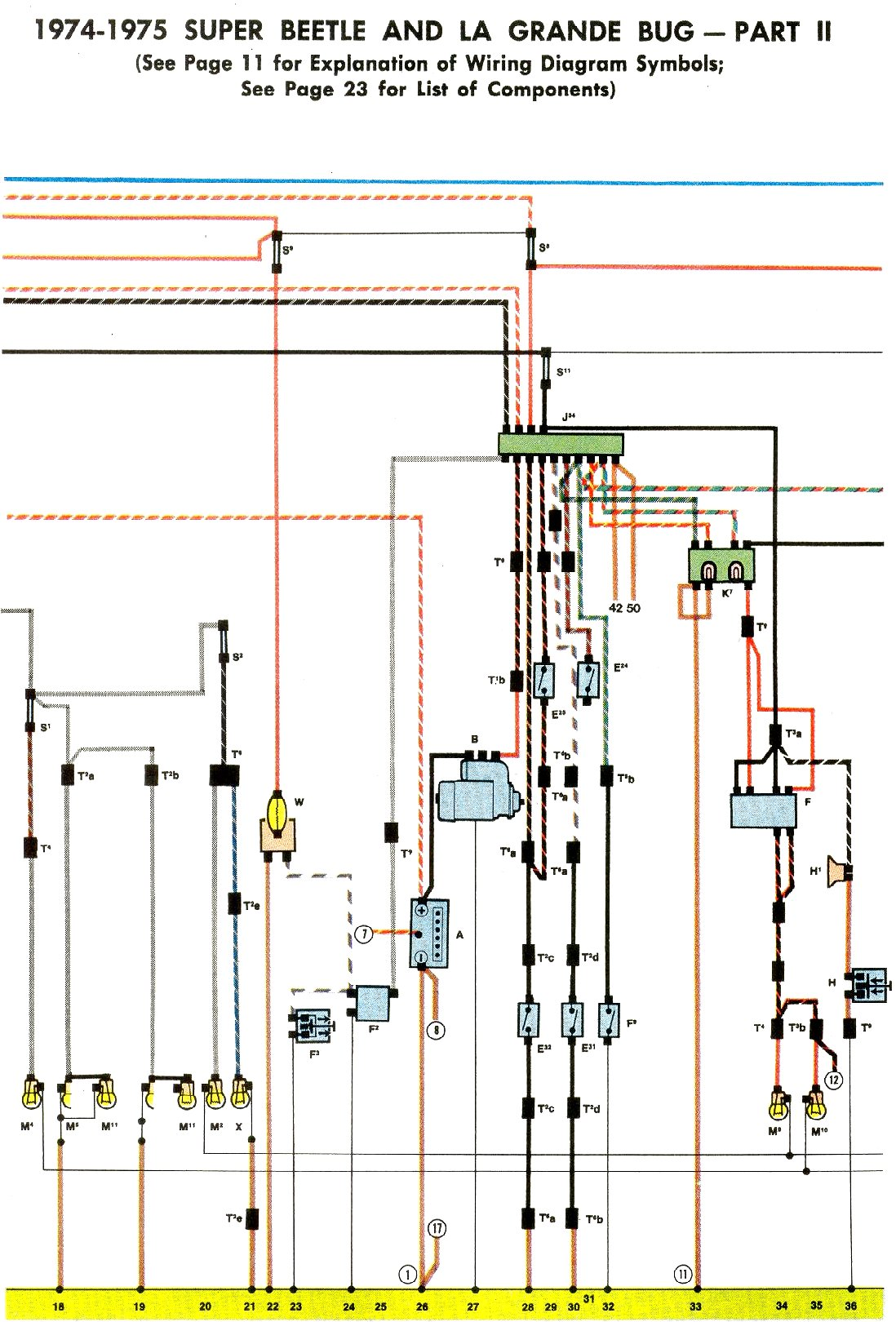 bug_7475_b vw bug wiring schematic volkswagen wiring diagram instructions 1970 vw bug wiring schematic at suagrazia.org
