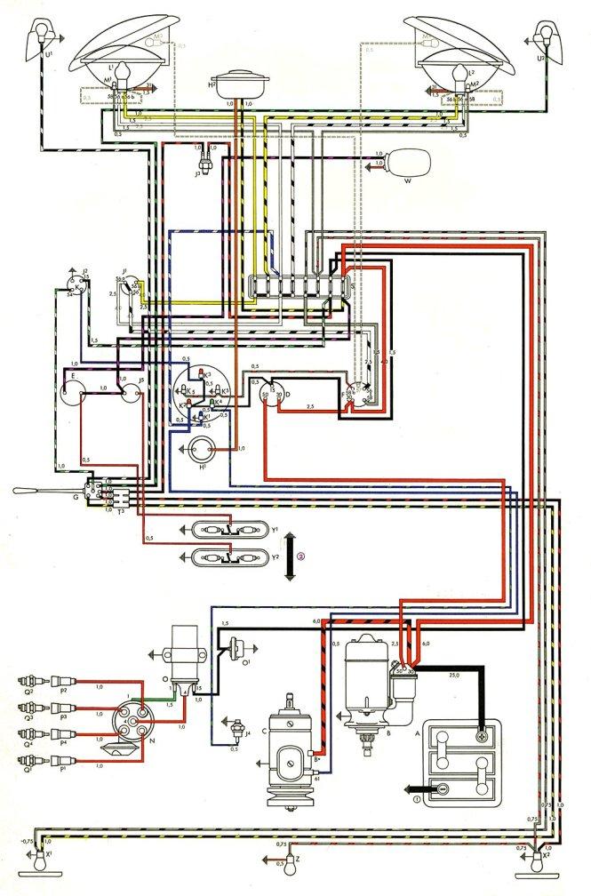 wiring diagram for 1971 vw bus – the wiring diagram – readingrat, Wiring diagram