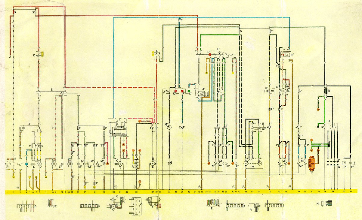 74 Vw Alternator Wiring Diagram Rail