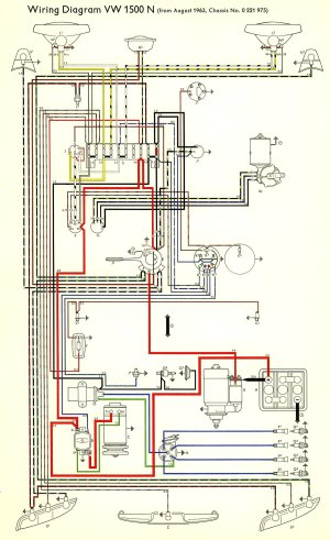 TheSamba :: Type 3 Wiring Diagrams