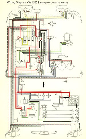 TheSamba :: Type 3 Wiring Diagrams