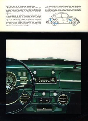 TheSamba :: VW Archives  1966 Beetle and Type 3 Air Conditioning Brochure