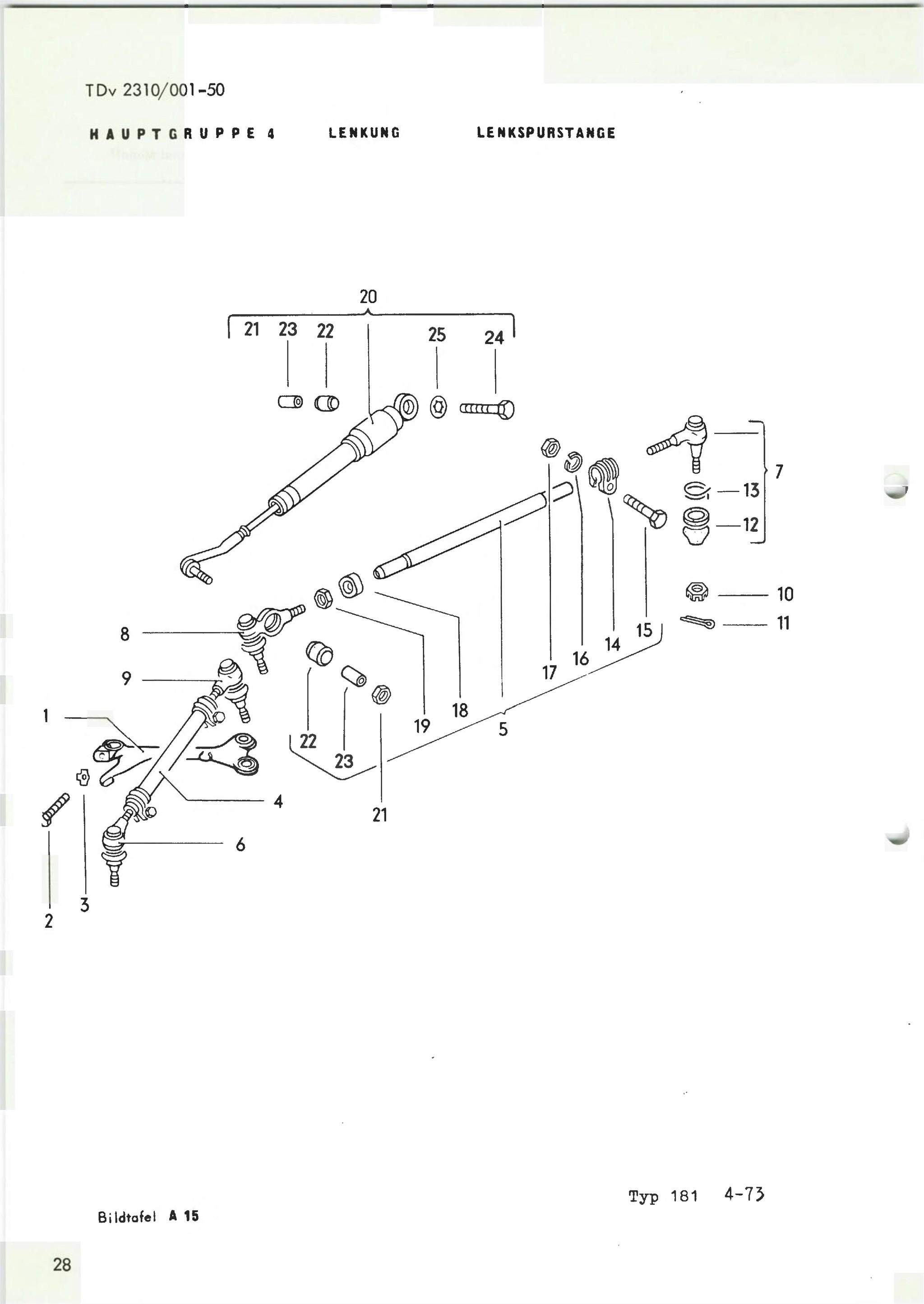 Thesamba Vw 181 German Army Parts Catalog