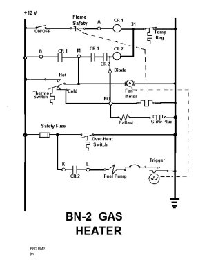 TheSamba :: VW Eberspacher Gas Heater Installation Manual  BN 2 Model