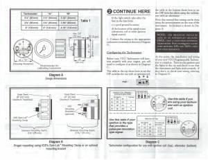 TheSamba :: VDO Programmable Tachometer Instructions