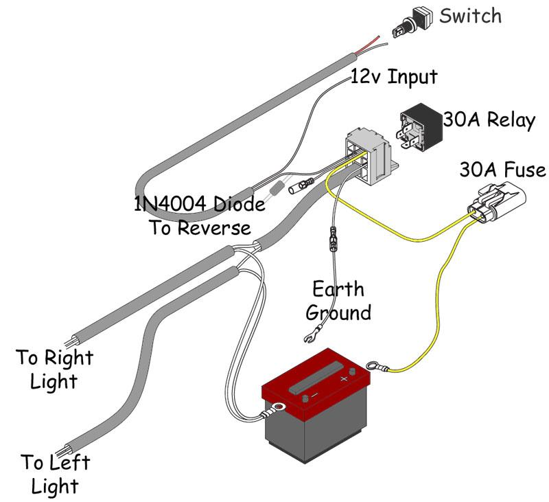 driving light wiring facbooik com Driving Lights Wiring Diagram With Relay arb wrangler intensity driving light wiring harness 3500520 (87 17 driving lights wiring diagram with relay