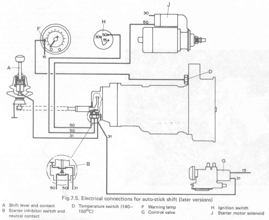 Electric Shift Switch Wiring Diagram