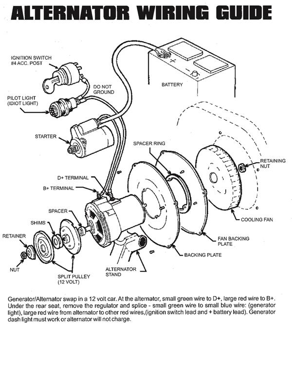 vw alternator wiring diagram vw wiring diagrams online wiring diagram for vw alternator wiring image