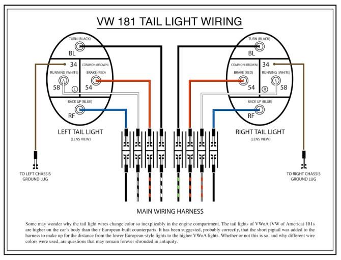 1999 vw beetle tail light wiring diagram  1955 dodge engine