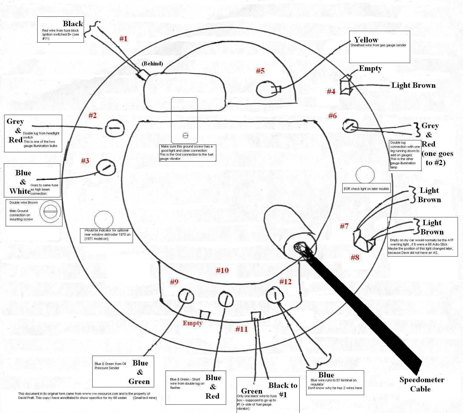 Boat Speedometer Wiring Diagram