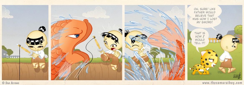 A Fisherman's Tale - Samurai Boy