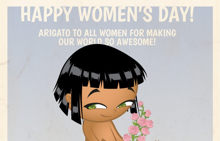 Happy woman's day - Samurai Boy