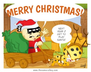 Merry Christmas! - Samurai Boy