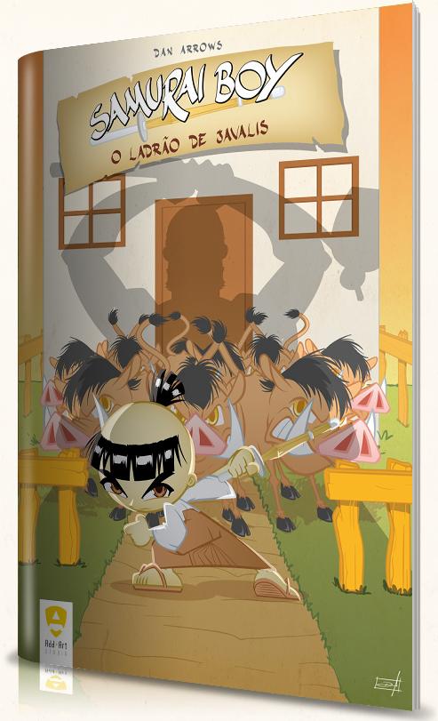 Samurai Boy: o ladrão de javalis