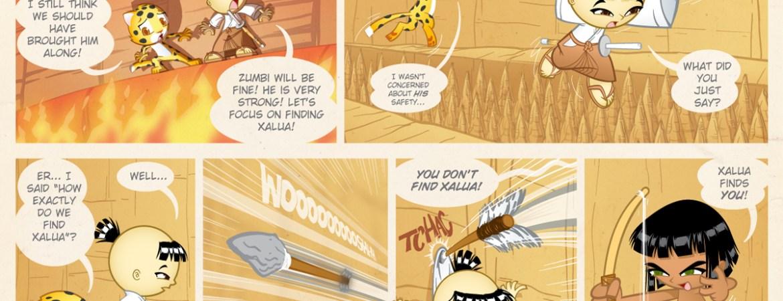 Samurai Boy comic - Find Xalua