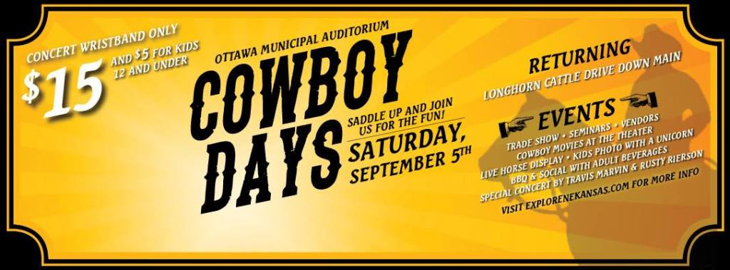 Ottawa Cowboy Days promotion
