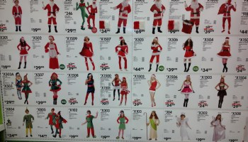 lots of costumes at party city - Party City Store Costumes