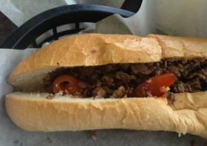 Bradley's Steak Sandwich