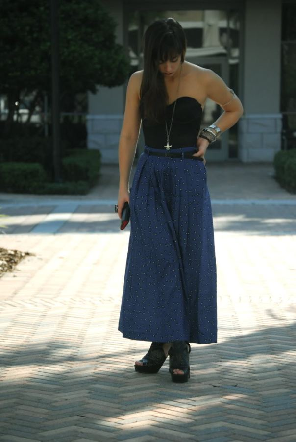 maxi-skirt-with-bustier-top