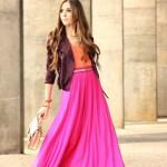 Ways to Wear a Maxi Skirt