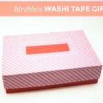 Birchbox Washi Tape Gift Box