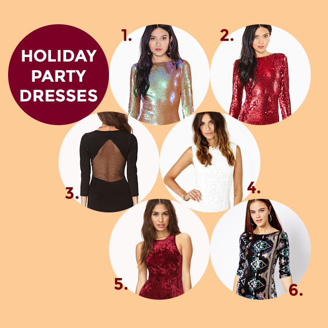 Holiday Party Dresses @ thesassylife