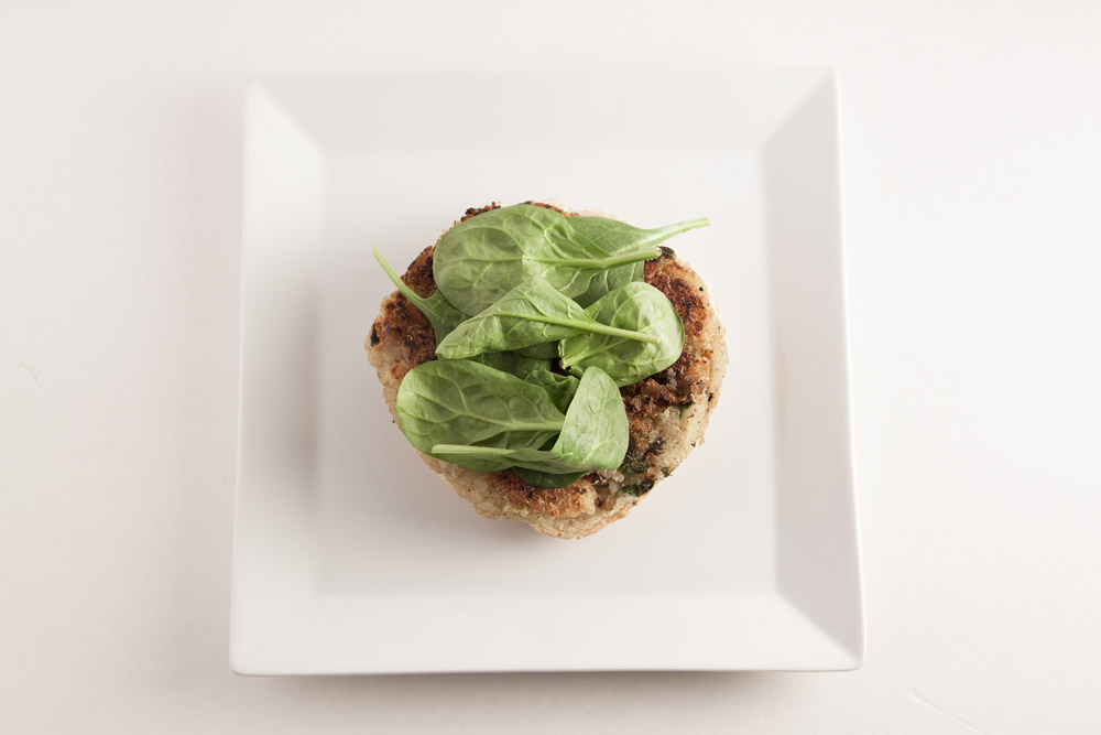 Quinoa Potato Burger