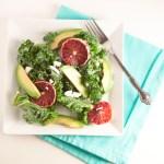 Blood Orange & Kale Salad