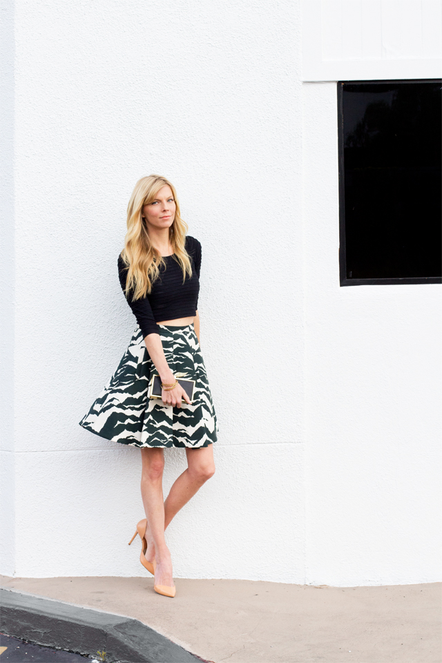 Crop Top with Full Skirt, Smitten Studio Online