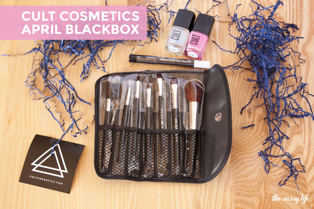 Cult Cosmetics April Blackbox