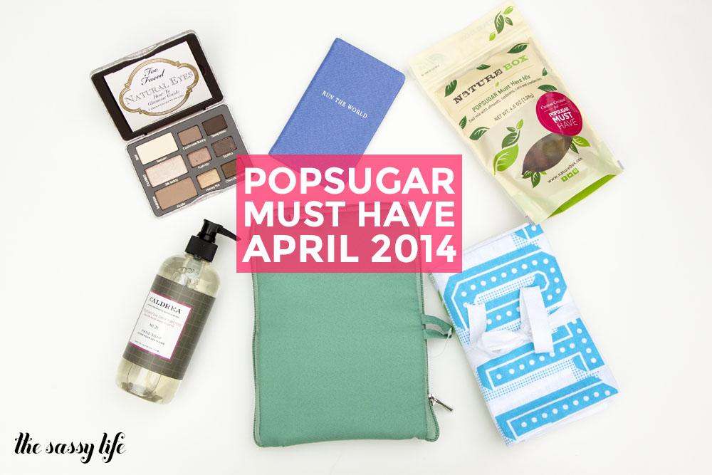 PopSugar Must Have April 2014