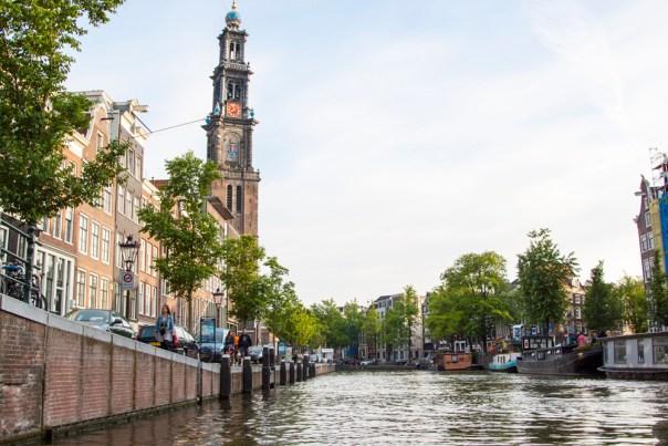 Amsterdam Canal Ride Church