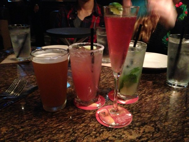 All our drinks at BJ's Restaurants! Cheers!