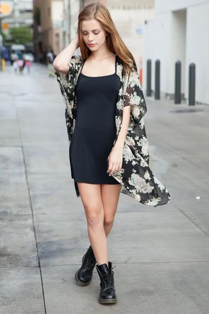 Brandy Melville Alexis Floral Kimono Top