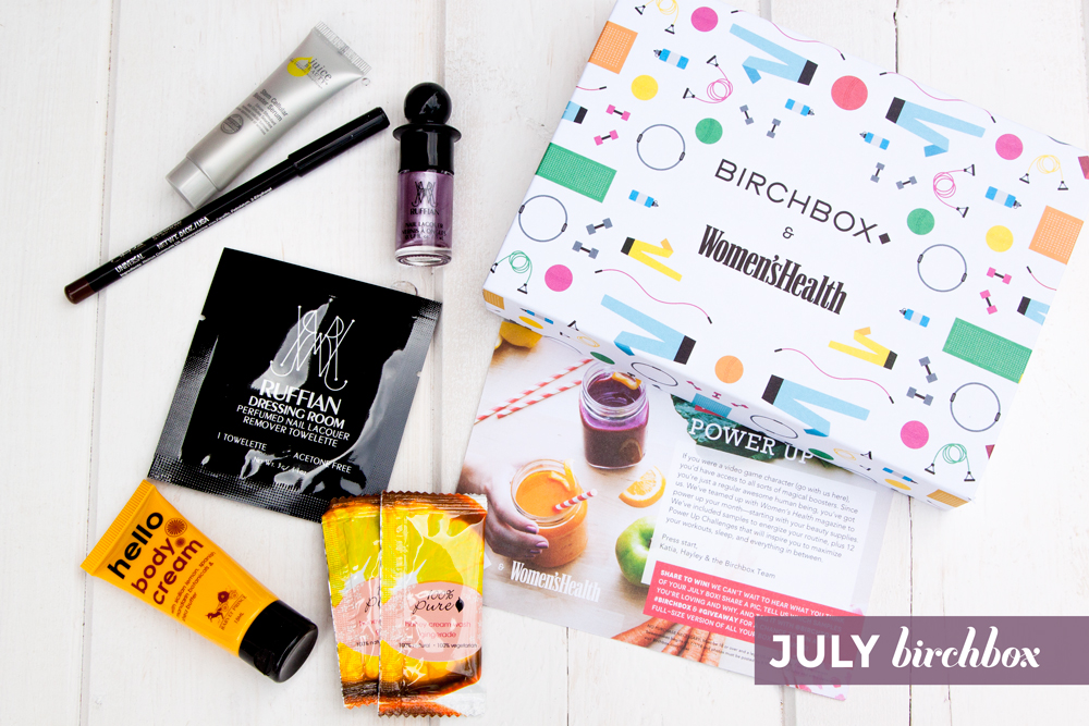 July Birchbox