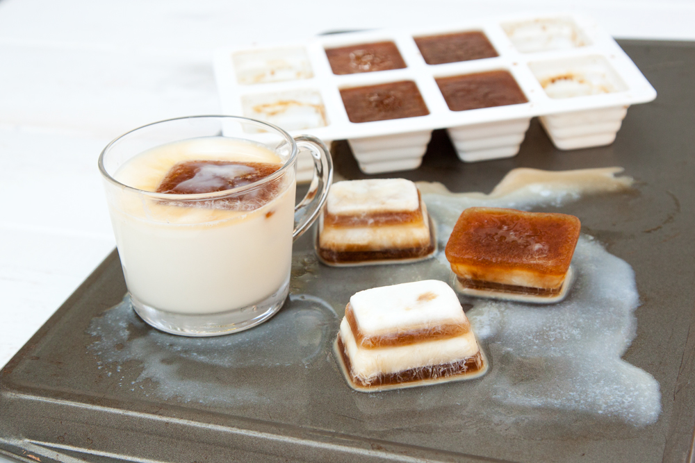 Coffee & Milk Ice Cubes
