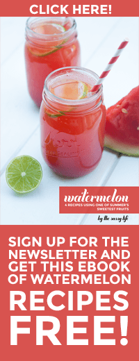 Sign up for the newsletter and get the Watermelon Recipes ebook Free!