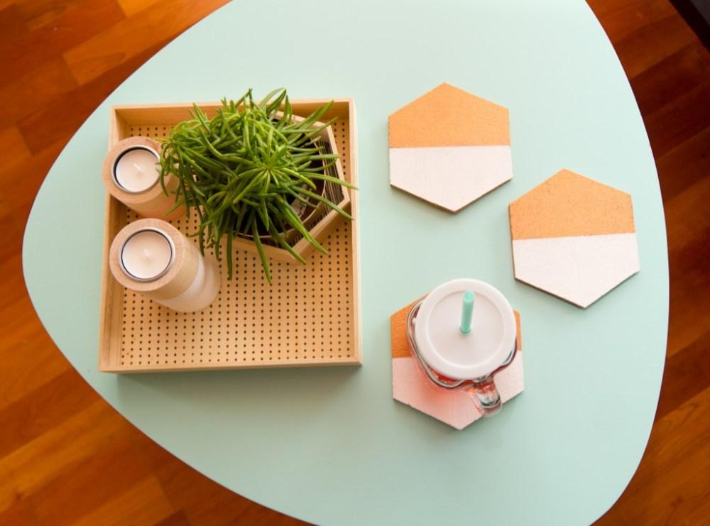 Geometric Coasters