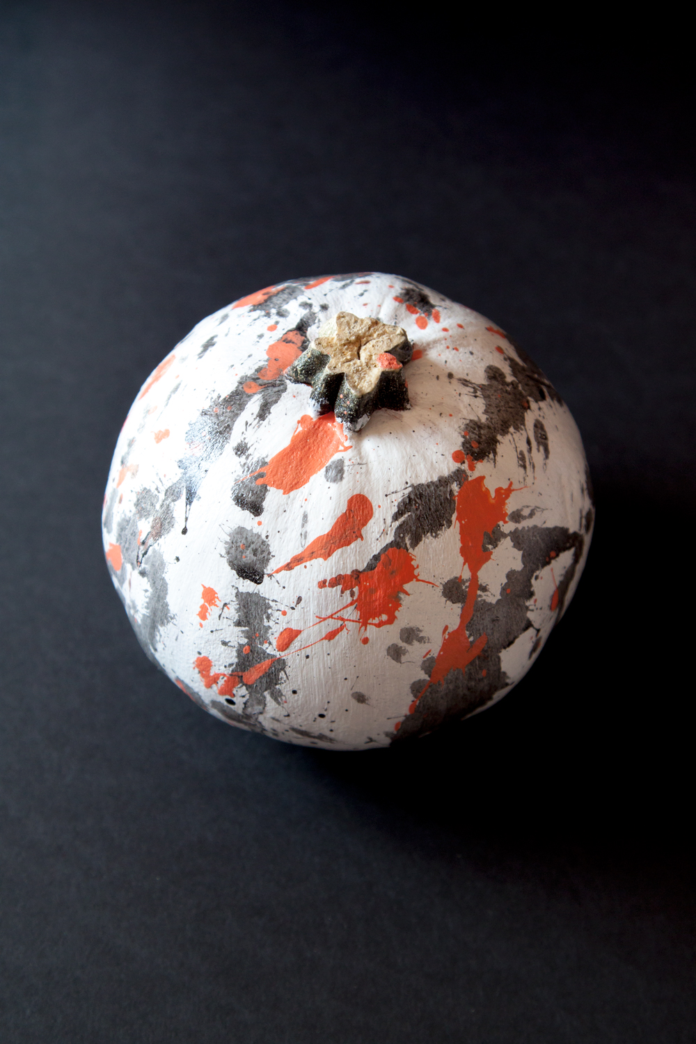 Splatter Paint Pumpkins