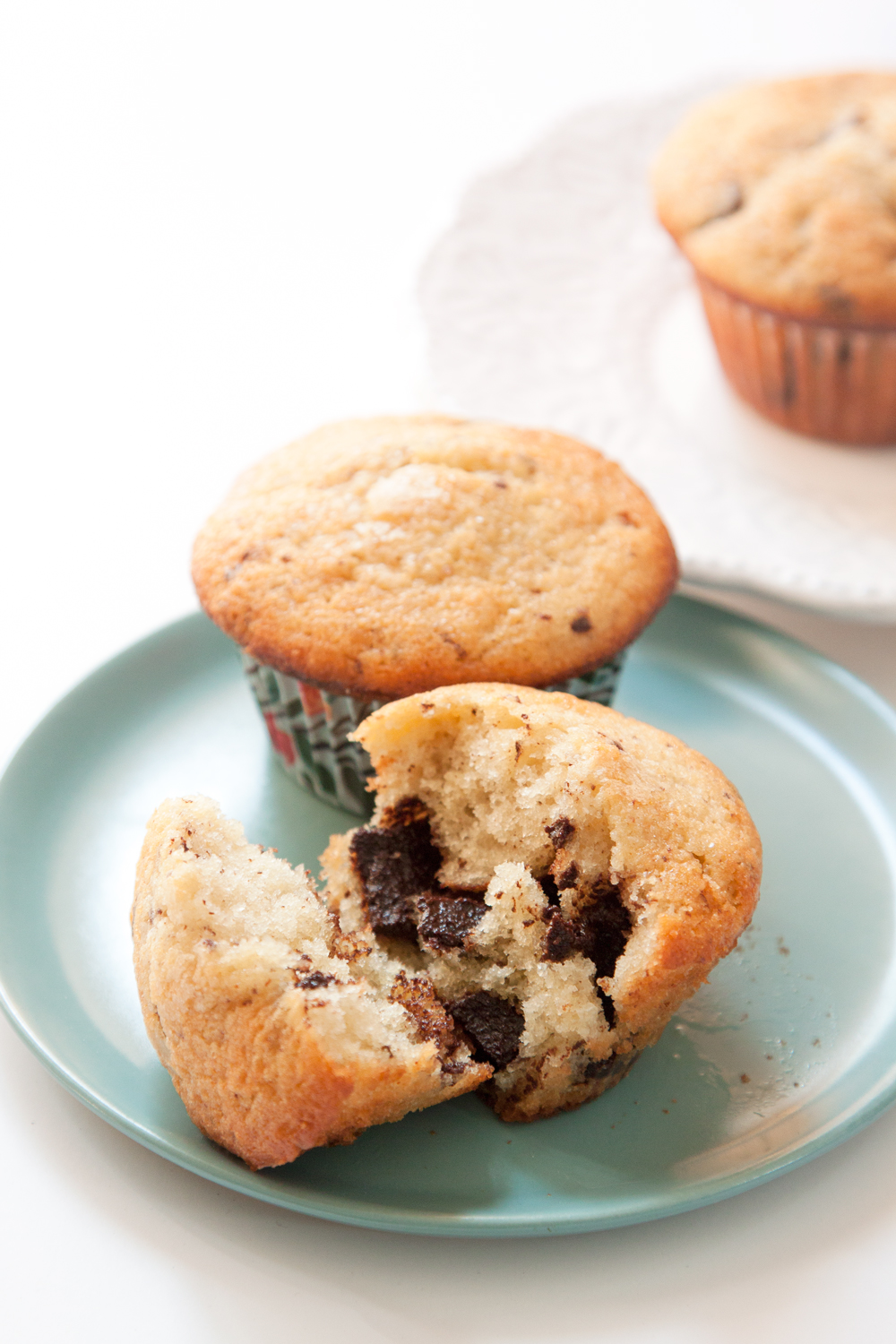 Chocolate Chunk Muffins - Huckleberry Cookbook