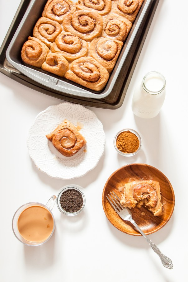 Chai Cinnamon Rolls