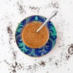 Thai Tea Chia Seed Pudding