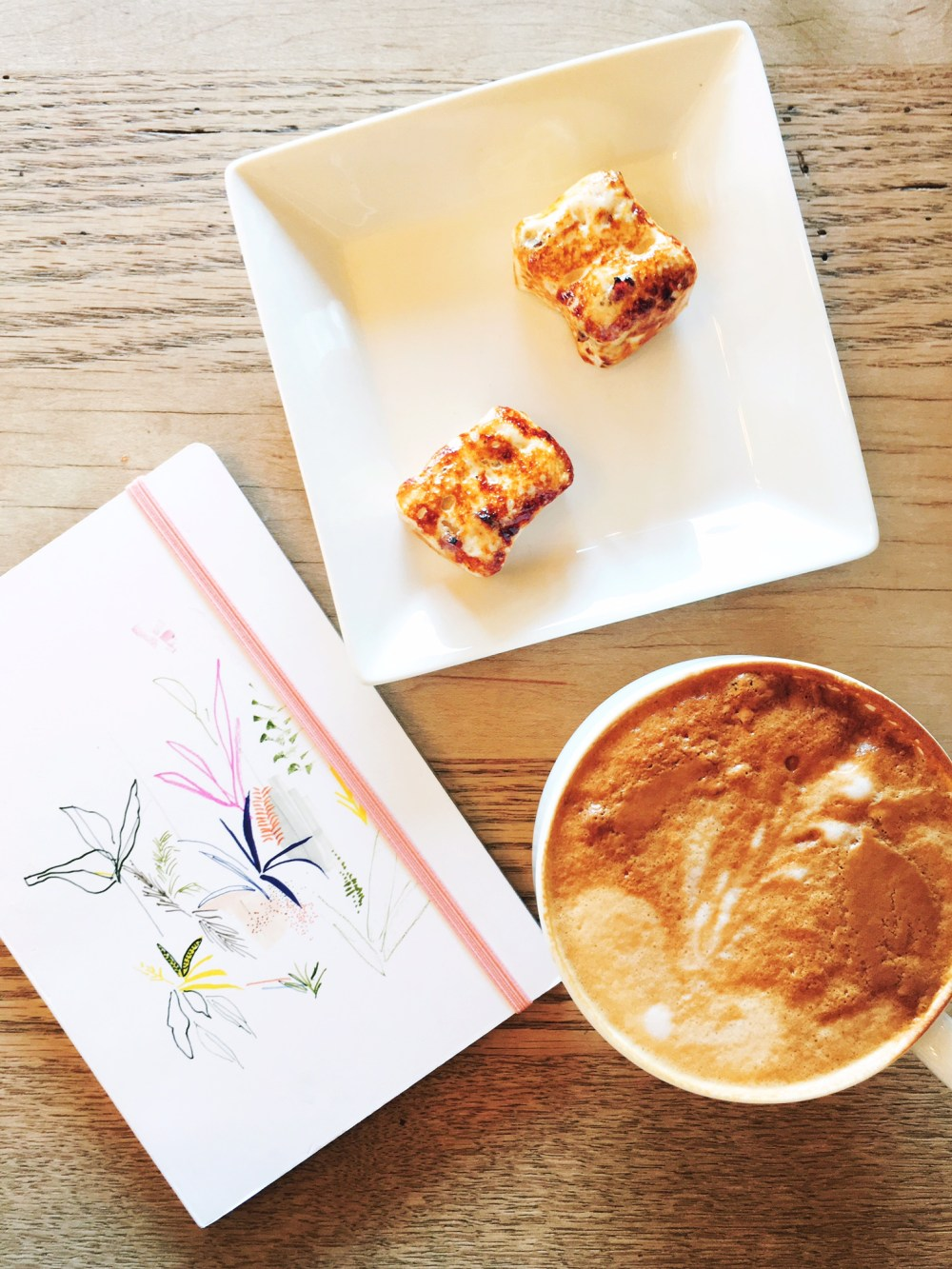 Latte, Maple Bacon Marshmallows, and my Bullet Journal