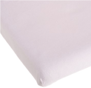 Carters Easy Fit Jersey Portable Crib Fitted Sheet, Pink