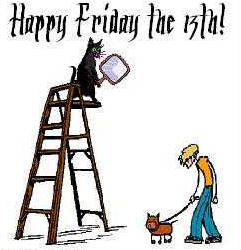 Friday the 13th (thanks to ASweetLife.org)
