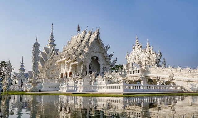 The White Temple is one of the best things to see in Thailand