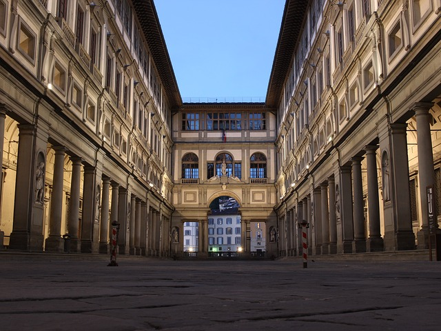 a visit to the Uffizi Gallery is must do in Florence Italy