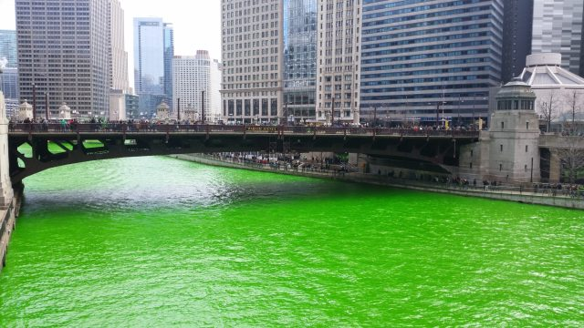 St. Patrick's Day is the best time of the year to visit Chicago if you like to party